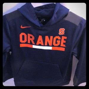 NIKE DRI-FIT SYRACUSE UNIVERSITY HOODIE